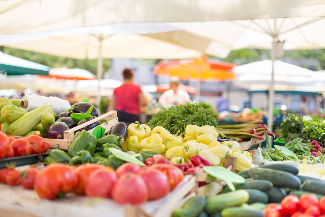 Explore the different markets to pick up some local goodness.