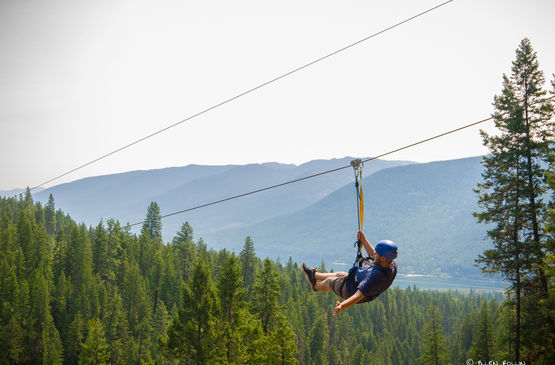 Kokanee Mountain Zipline's 2017 Community Day for a Good Cause!
