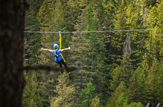 Prepare for Weather when Visiting Kokanee Glacier Park and the zipline