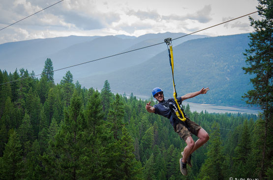 What Makes Kokanee Mountain Zipline the Place to Go for Zip Lining?
