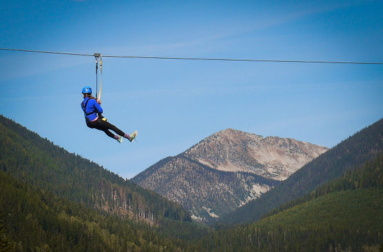 6 Can't-miss Kootenay Attractions: Put zip line at the top of your list