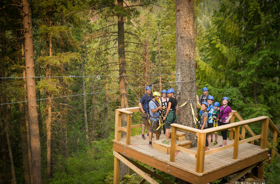 Nelson Ziplining Tour Company Gives Back