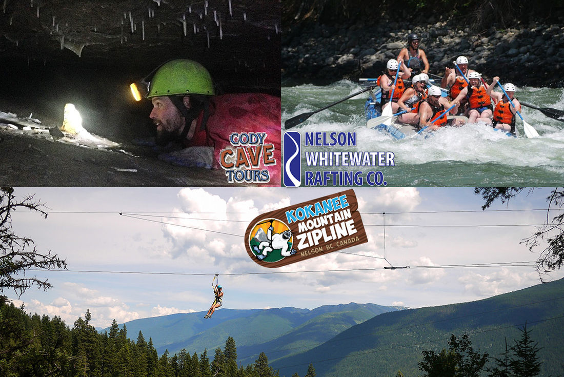 Get stamps for completing all three Nelson activities in the Nelson Adventure Alliance for a chance to win some great prizes!