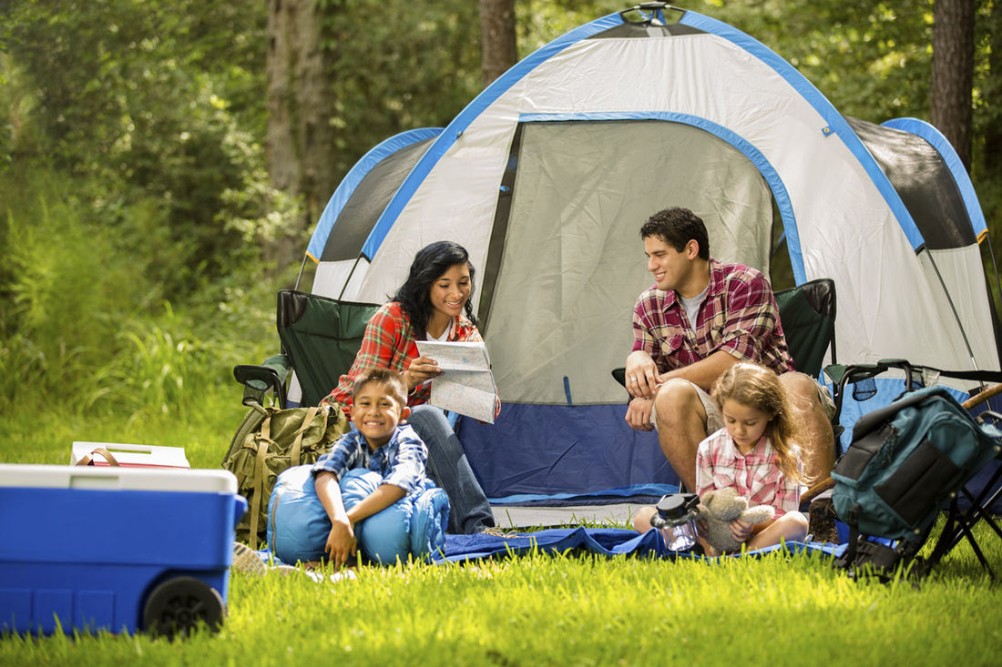 Camping in the Kootenay Mountains is a great way to spend your summer vacation with the family.