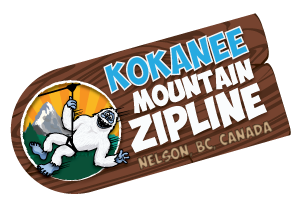 Kokanee Mountain Zipline near Nelson, British Columbia